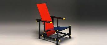chaise rietveld culte du design la chaise et bleu de gerrit rietveld le