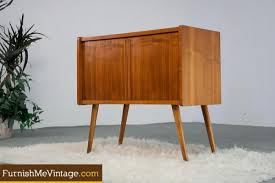 Mid Century Record Cabinet by Mid Century Modern German Record Cabinet