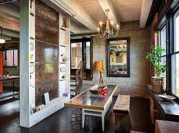 Wooden Table Ls For Living Room Ways To Create A Trendy Industrial Dining Room