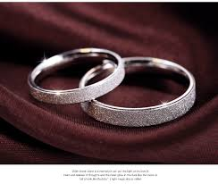 best platinum rings images Classic 925 sterling silver couple rings for lovers wholesale jpg