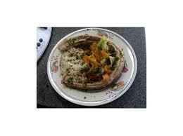 comment cuisiner la saumonette saumonette aux legumes et riz complet by piemo on espace