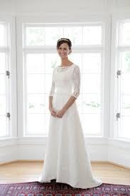 apostolic wedding dresses chatfields bridal boutique wedding dress with and 3 4 length