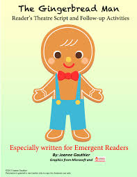 the gingerbread readers theater for emergent readers
