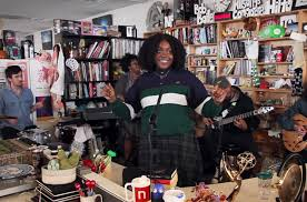 Npr Small Desk Noname Performs For Npr S Tiny Desk Concert Series Billboard