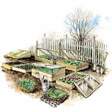 Canadian Garden Zones - garden with cold frames to grow more food organic gardening