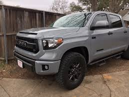 largest toyota my experience with largest tires on stock trd pro setup toyota