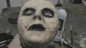 cheap diy zombie mask tutorial youtube