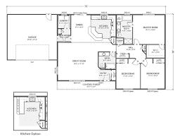 Buccaneer Homes Floor Plans by 28 Rambler Floor Plans Rambler House Plans Traditional