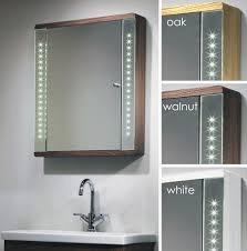 Bathroom Mirrored Cabinets by Battery Led Bathroom Mirror Cabinet Bar Cabinet