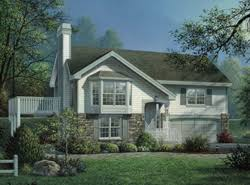 bi level house plans with attached garage bi level home plans house plans and more