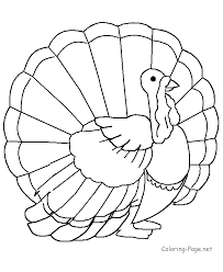 thanksgiving turkey coloring pages kids coloring