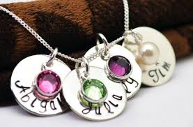 s day necklaces personalized remarkable mothers jewelry necklace personalized oval tag birthstone
