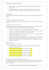 crowdfunding marketing plan brick u0026 mortar retail template