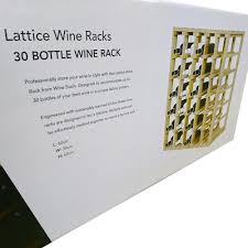 lattice cubes wine stash
