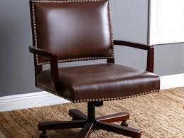 Ikea Leather Chairs Office Chair Brown Leather Office Chair Pleasurable Desk Chairs