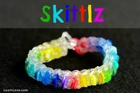 bracelet rubber bands youtube images How to make a rainbow loom skittlz bracelet jpg