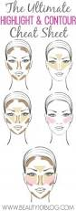 top 25 best highlight contour makeup ideas on pinterest face