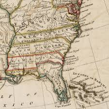 Map Of Georgia And Florida Buffalo In Present Day Alabama Thehistoricfoodie U0027s Blog