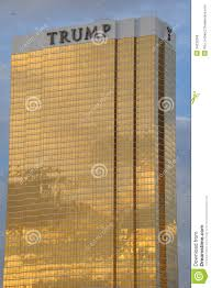 the trump hotel las vegas editorial photo image of gold 34232286