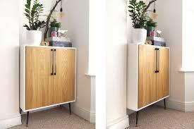 ikea kitchen cabinet hacks 15 ikea hacks for small entryways