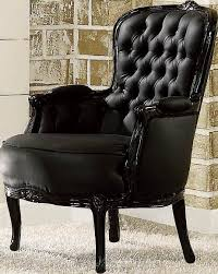 Black Accent Chairs For Living Room Acme Furniture Cain Black Accent Chair Black Accents Acme
