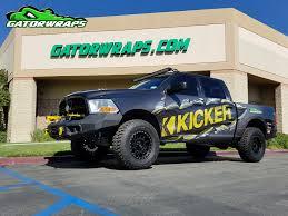 Ford F150 Truck Wraps - truck wraps orange ca wraps for cars gatorwraps