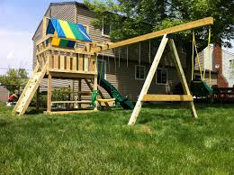 Swing Sets For Small Backyard by Breathtaking Swing Set For Small Backyard Pics Decoration
