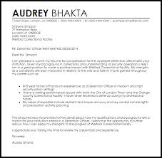 download cover letter for correctional officer