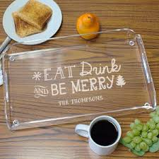 personalized serving dish personalized serving trays personalized platters gifts for you now