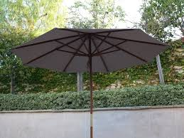Patio Umbrella Parts Repair by Amazon Com 9ft Market Umbrella Replacement Canopy 8 Ribs Taupe