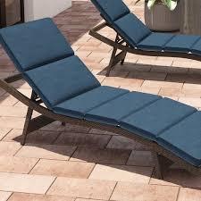 Outdoor Chaise Lounge Cushion Chairs Navy Blue Sunbrella Adirondack Chair Cushion Dfohome Wd01ad