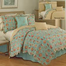 shore thing coastal seashell quilt set by waverly