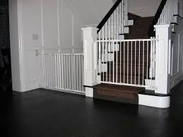 Baby Gate For Stairs With Banister Baby Gates For Stairs With Metal Banisters Retractable Baby
