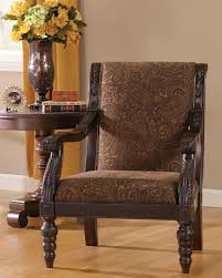north shore sofa bradington traditional truffle fabric accent chair living rooms
