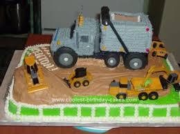 construction birthday cakes coolest construction vehicles cakes