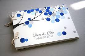 guest book photo album custom wedding guest book album with tree branch modern