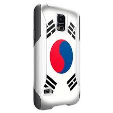 South Korea Flag Otterbox Commuter Case For Samsung Galaxy S5 South Korea Flag