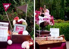 baseball themed wedding sophisticated baseball theme celebrations at home