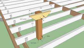 deck plans deck bench plans free howtospecialist how to build step by step