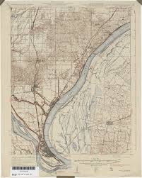 Road Map Of Illinois by