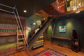 Bunk Beds With Slide Toddler Loft Bed With Slide Treehouse Bunk - Slide bunk beds
