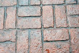 Basket Weave Brick Patio by Stamped Concrete Vs Pavers Goodmanson Construction