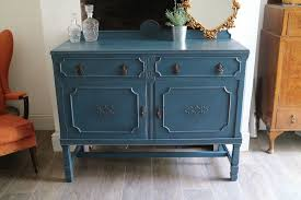 shabby chic deep blue sideboard vintage dresser in stapleford