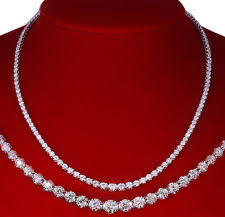 all diamond necklace images Diamond eternity necklace ebay jpg