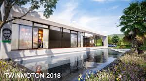twinmotion 2018 rendering tutorials 3 pool house daylight