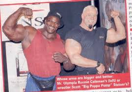 Ronnie Coleman Bench by Strength Fighter The Biggest Arms In The World