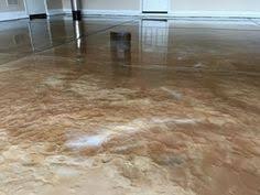 Epoxy Kitchen Floor by Epoxy Flooring Baton Rouge La Brown Copper Metallic Marvelous