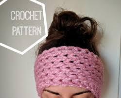 crochet ear warmer headband chunky crochet ear warmer pattern ear warmer crochet pattern