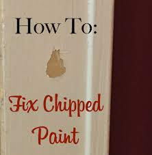 how to fix chipped paint the craftsman blog