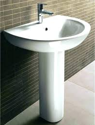 Bathroom Pedestal Sink Storage Bathroom Pedestal Sink Archer Pedestal Bathroom Pedestal
